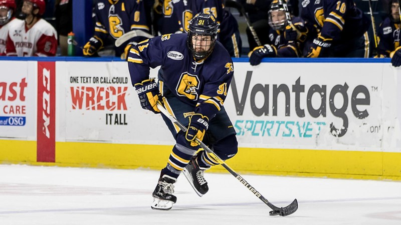 Hutchison Named AHA Offensive Player of the Week - Canisius College
