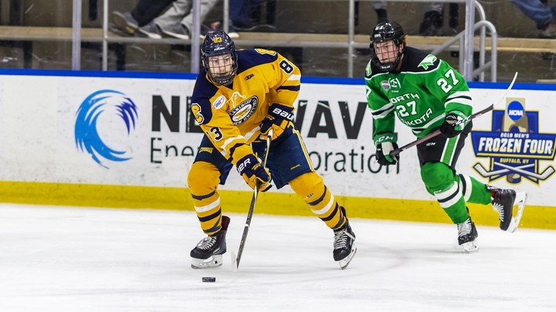 Hockey Falls in Series FInale at No. 18 North Dakota