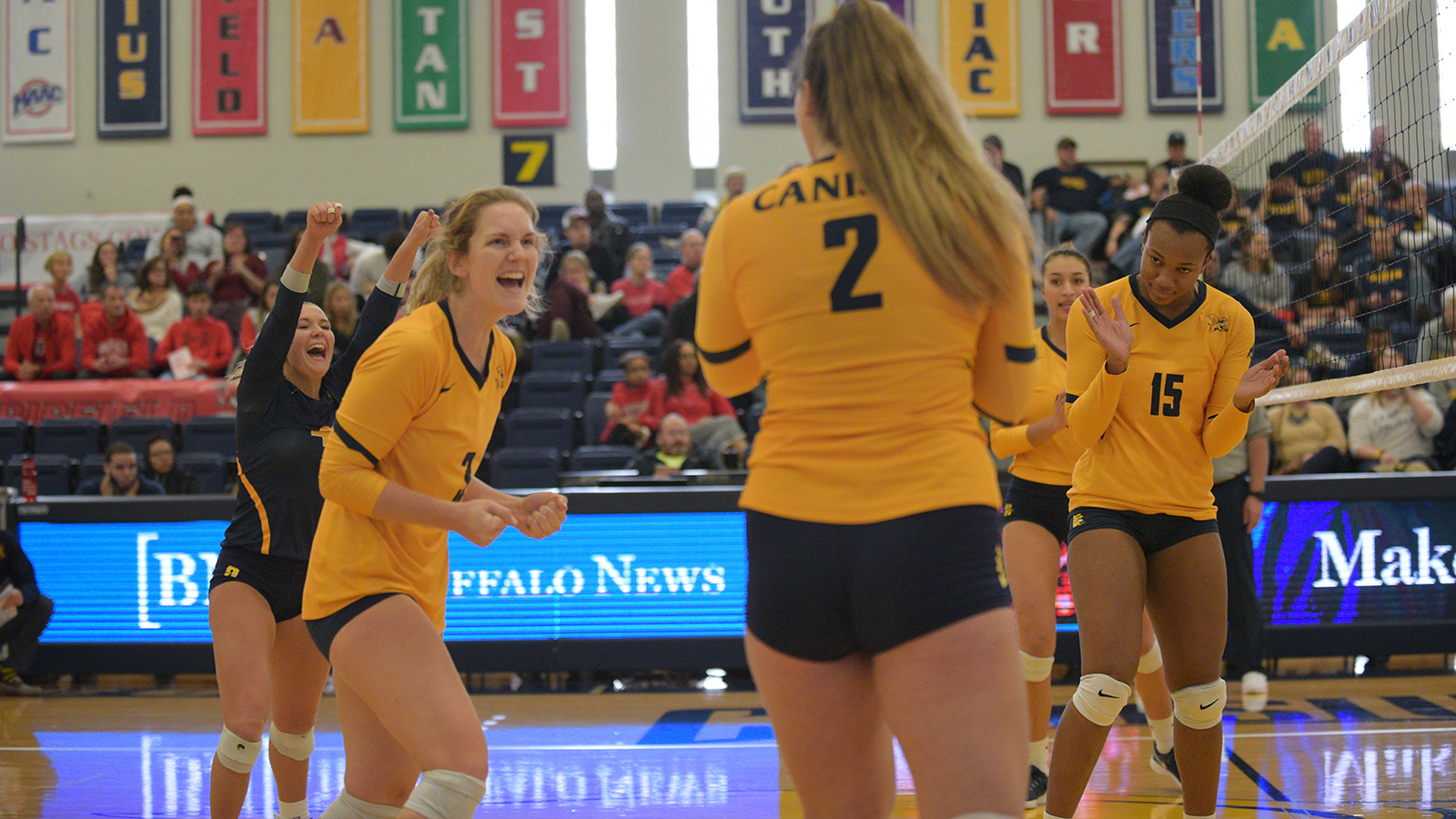 Allyson Is Watching 1997 volleyball's 3-2 win ends fairfield's win streak - canisius