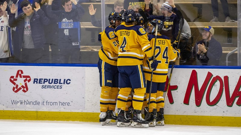 Hockey Places 12 on AHCA All-American Scholar List - Canisius College Athletics